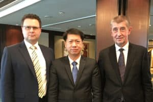 Prime Minister of Czech Republic's Invitation to LIGMAN CEO
